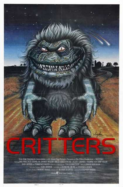 Horror Posters - Critters