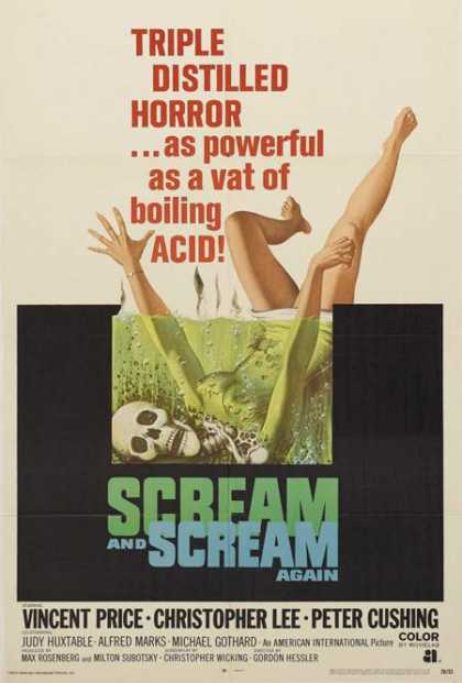 Horror Posters - Scream and Scream Again