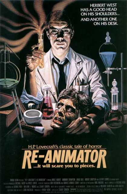 Horror Posters - Re-Animator