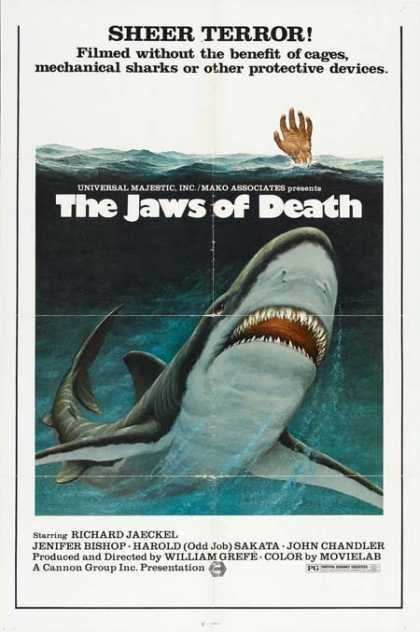 Horror Posters - The Jaws of Death