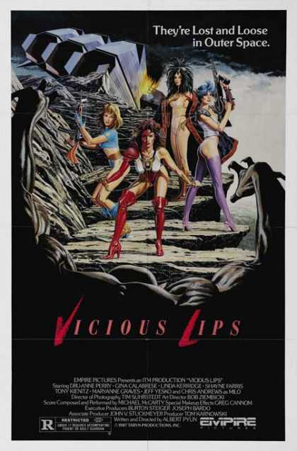 Horror Posters - Vicious Lips