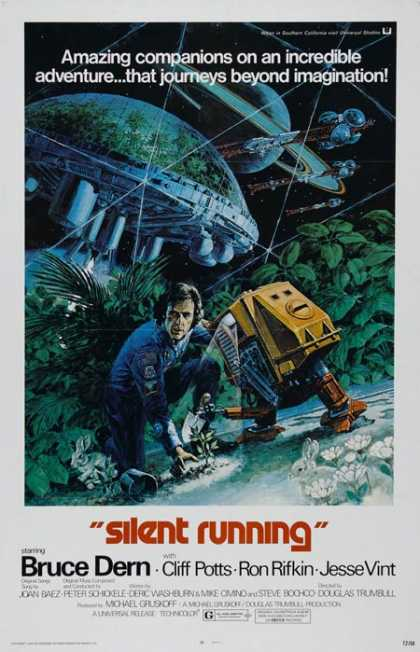Horror Posters - Silent Running