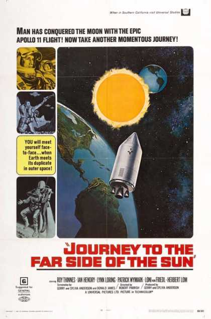 Horror Posters - Journey to the Far Side of the Sun