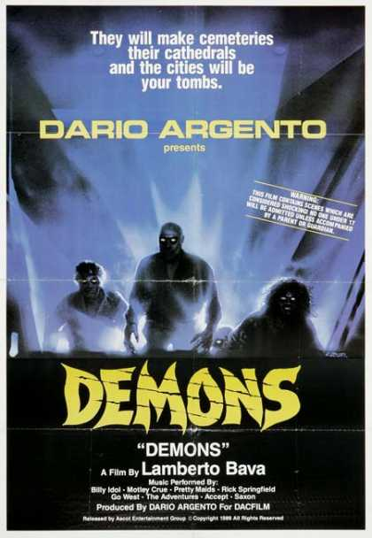 Horror Posters - Demons