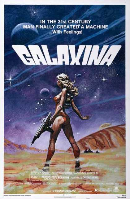 Horror Posters - Galaxina