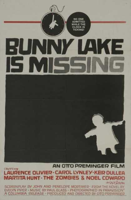 Horror Posters - Bunny Lake Is Missing