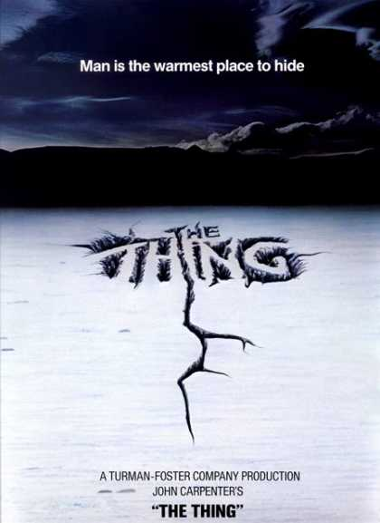 Horror Posters - The Thing
