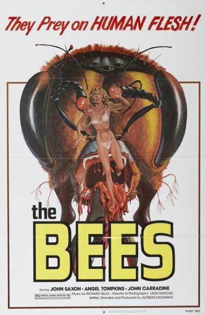 Horror Posters - The Bees