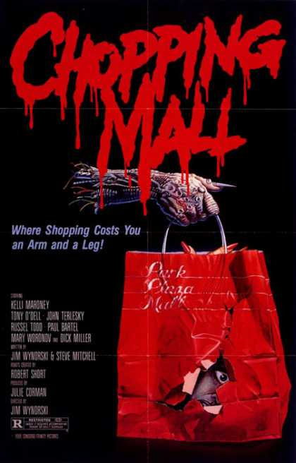 Horror Posters - Chopping Mall