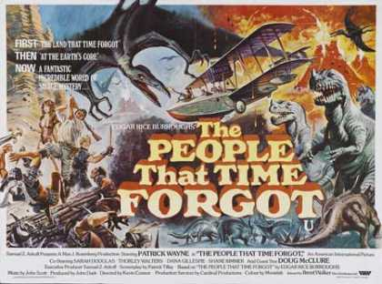 Horror Posters - The People That Time Forgot