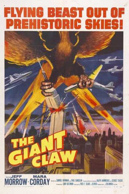 Horror Posters - The Giant Claw