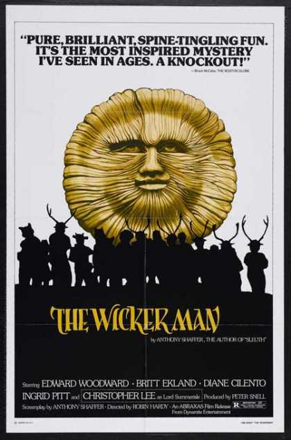 Horror Posters - The Wicker Man