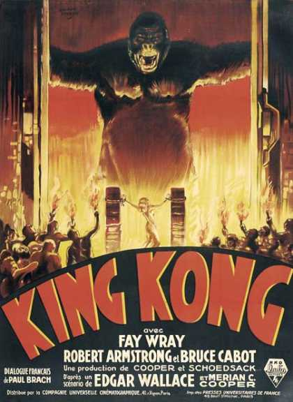 Horror Posters - King Kong
