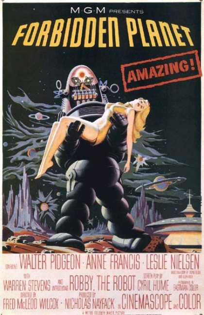 Horror Posters - Forbidden Planet