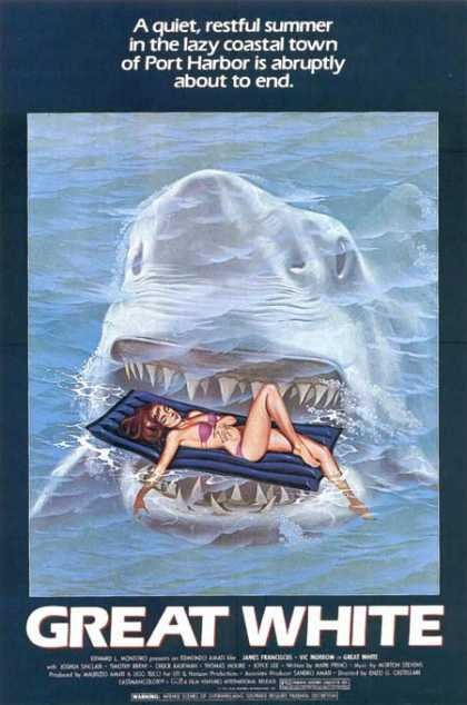 Horror Posters - Great White