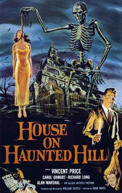 Horror Posters - House on Haunted Hill