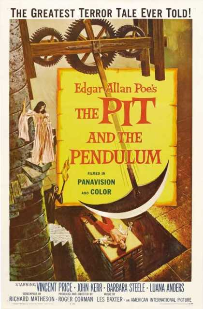 Horror Posters - The Pit and the Pendulum