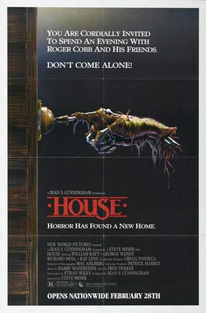 Horror Posters - House