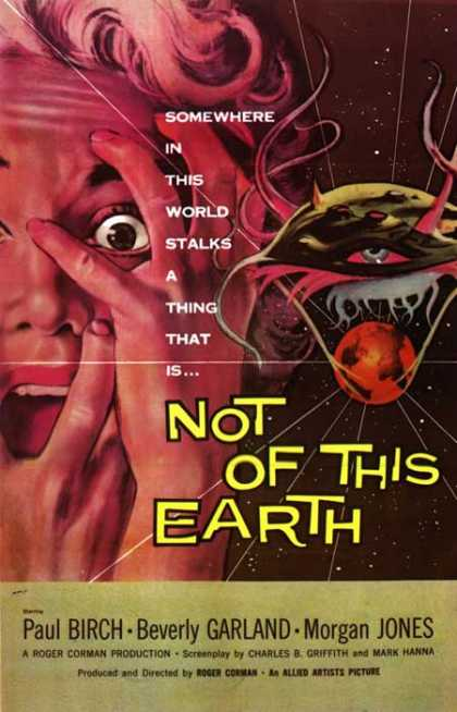 Horror Posters - Not of This Earth