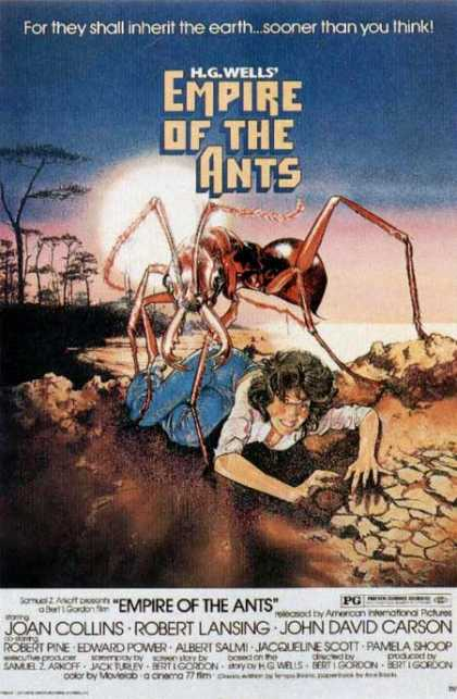 Horror Posters - Empire of the Ants