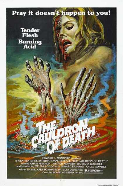Horror Posters - The Cauldron of Death