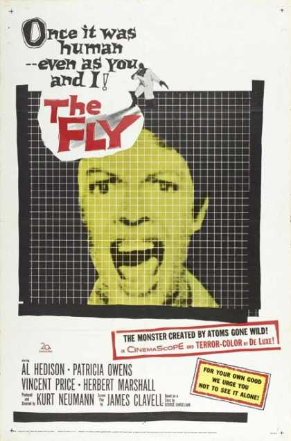 Horror Posters - The Fly