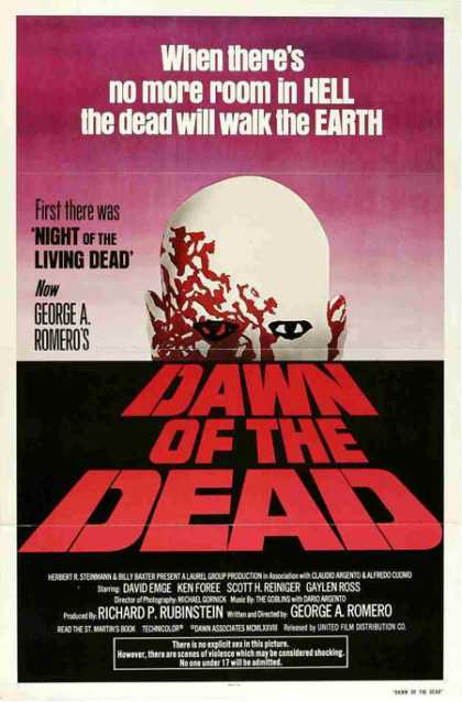 Horror Posters - Dawn of the Dead