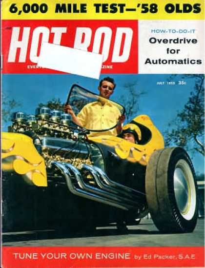 Hot Rod - July 1958