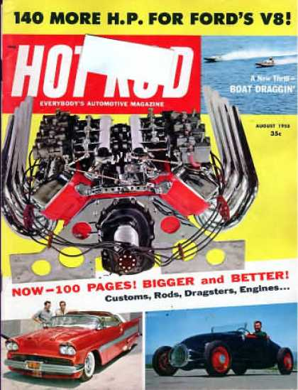 Hot Rod - August 1958