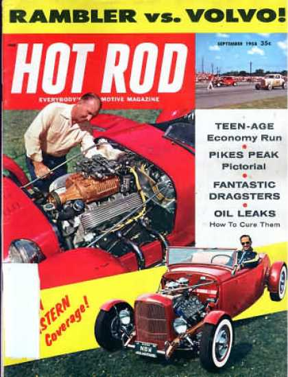 Hot Rod - September 1958