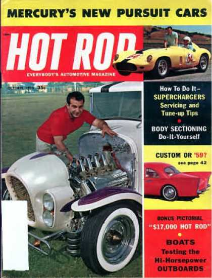 Hot Rod - October 1958