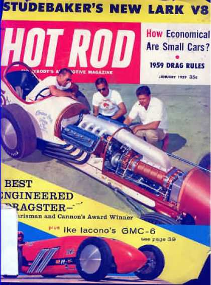 Hot Rod - January 1959