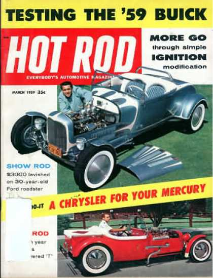 Hot Rod - March 1959