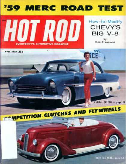 Hot Rod - April 1959