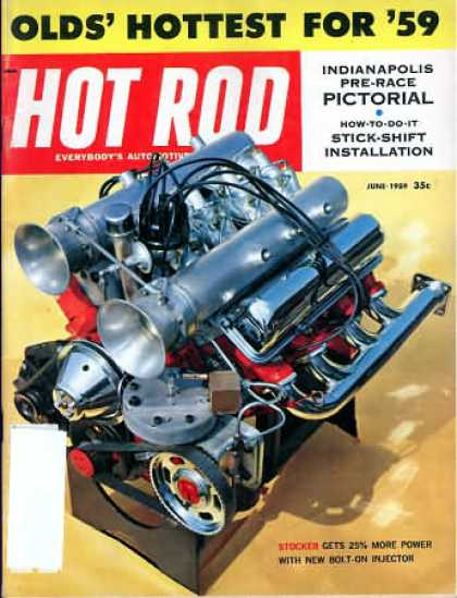 Hot Rod - June 1959