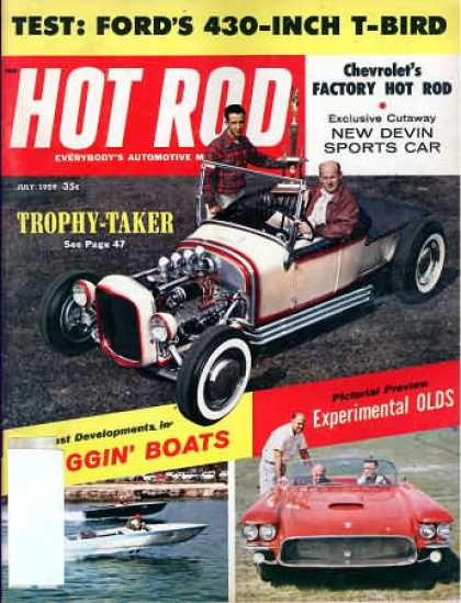 Hot Rod - July 1959