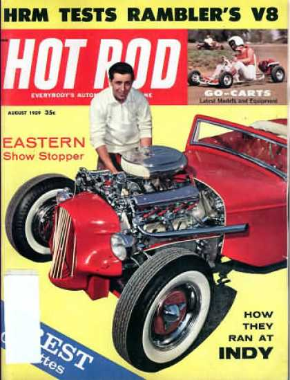 Hot Rod - August 1959