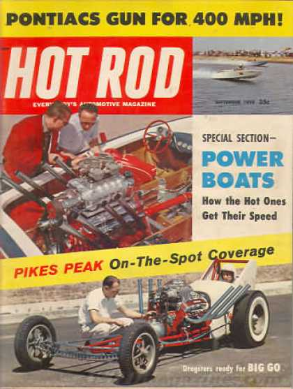 Hot Rod - September 1959