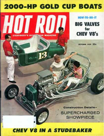 Hot Rod - October 1959