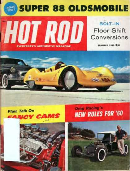 Hot Rod - January 1960