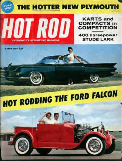 Hot Rod - March 1960