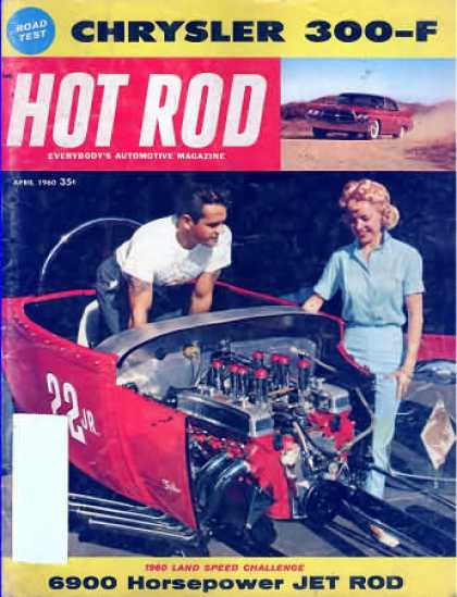 Hot Rod - April 1960