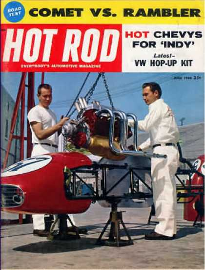 Hot Rod - June 1960