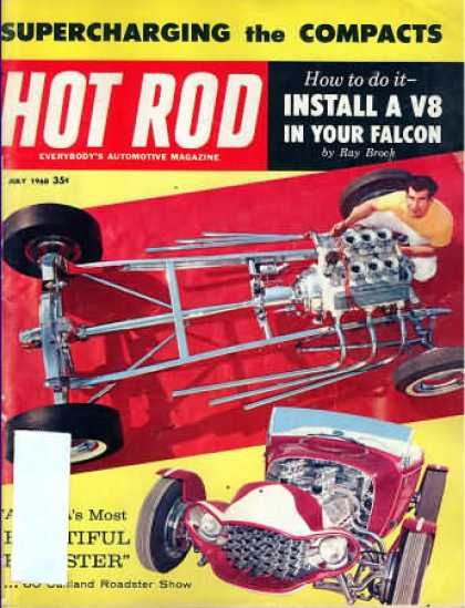 Hot Rod - July 1960