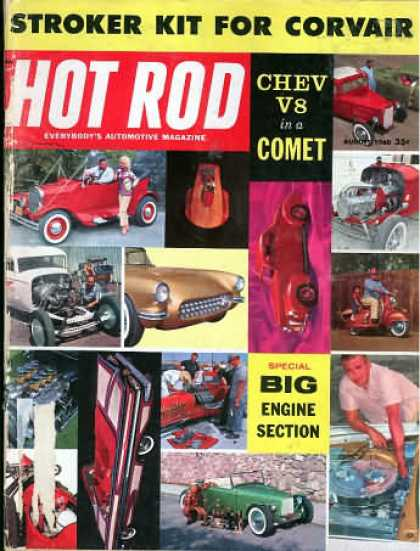 Hot Rod - August 1960