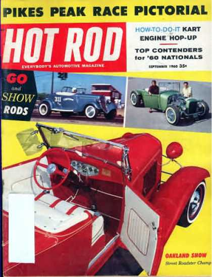 Hot Rod - September 1960