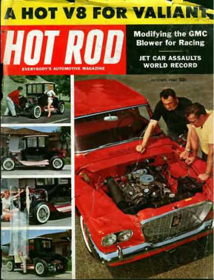 Hot Rod - October 1960