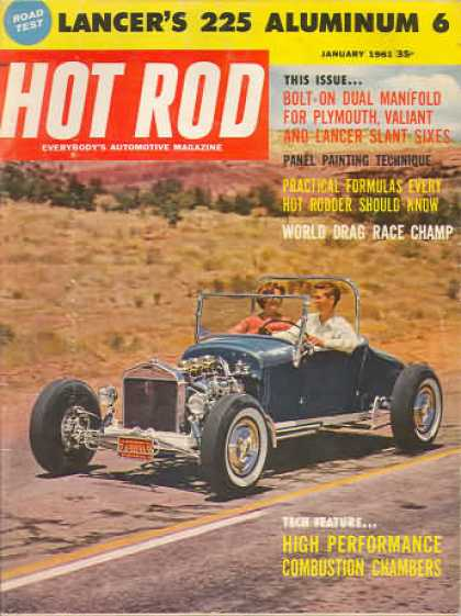 Hot Rod - January 1961