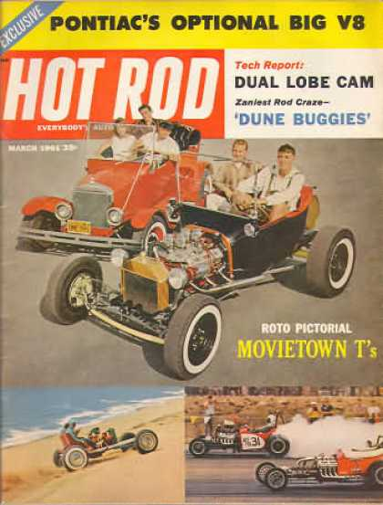 Hot Rod - March 1961