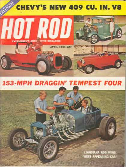 Hot Rod - April 1961